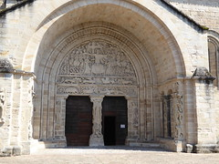 The famous deeply recessed south portal of the former abbey church of Beaulieu - Photo of Cornac