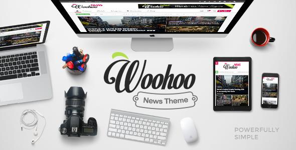 Woohoo v1.4.3 - Modish News, Magazine and Blog Theme