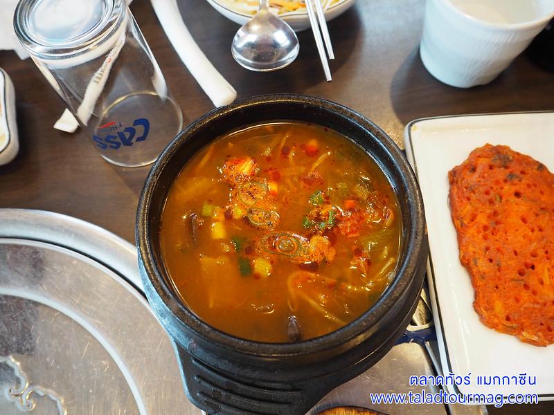 ชุปเกาหลี หมูย่างเกาหลี หมูกระทะเกาหลี ประเทศเกาหลีใต้