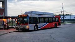 WMATA Metrobus 2007 New Flyer C40LFR #2823