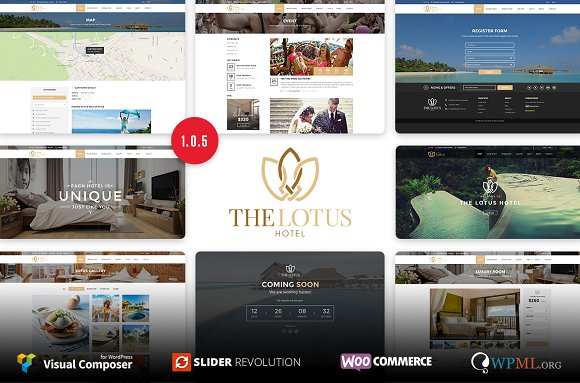 Lotus v1.0.5 - Hotel Booking WordPress Theme