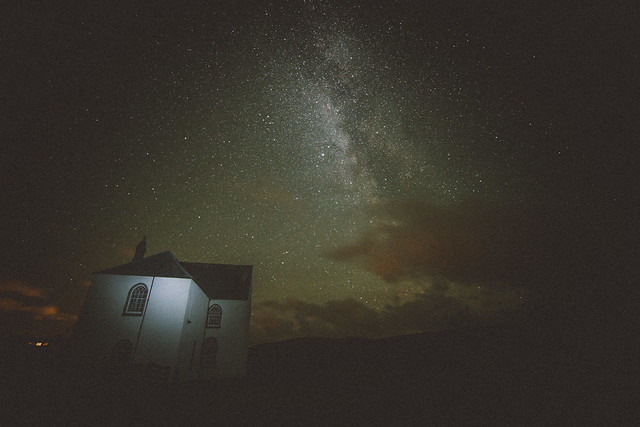 Milky Way kiss