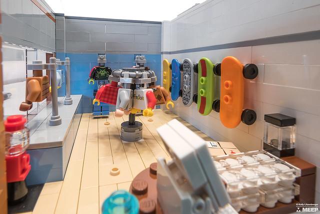 LEGO Revolution main interior