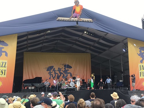 Meschiya Lake & the Little Big Horns hit the Acura Stage, Jazz Fest Day 1 - April 28, 2017