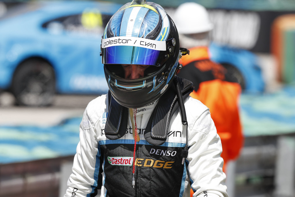 GIROLAMI Nestor (arg), Volvo S60 Polestar team Polestar Cyan Racing, ambiance portrait   during the 2017 FIA WTCC World Touring Car Race of Hungary at hungaroring, Budapest from may 12 to 14 - Photo Frederic Le Floc'h / DPPI