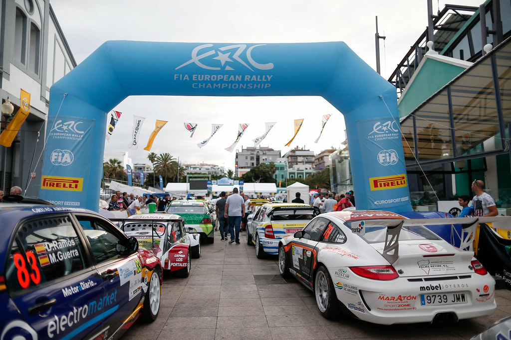 ambiance during the 2017 European Rally Championship ERC Rally Islas Canarias, El Corte Inglés,  from May 4 to 6, at Las Palmas, Spain - Photo Alexandre Guillaumot / DPPI