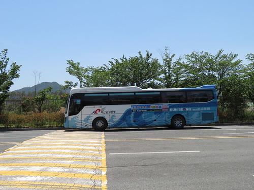 釜山慶南競馬場への送迎バス