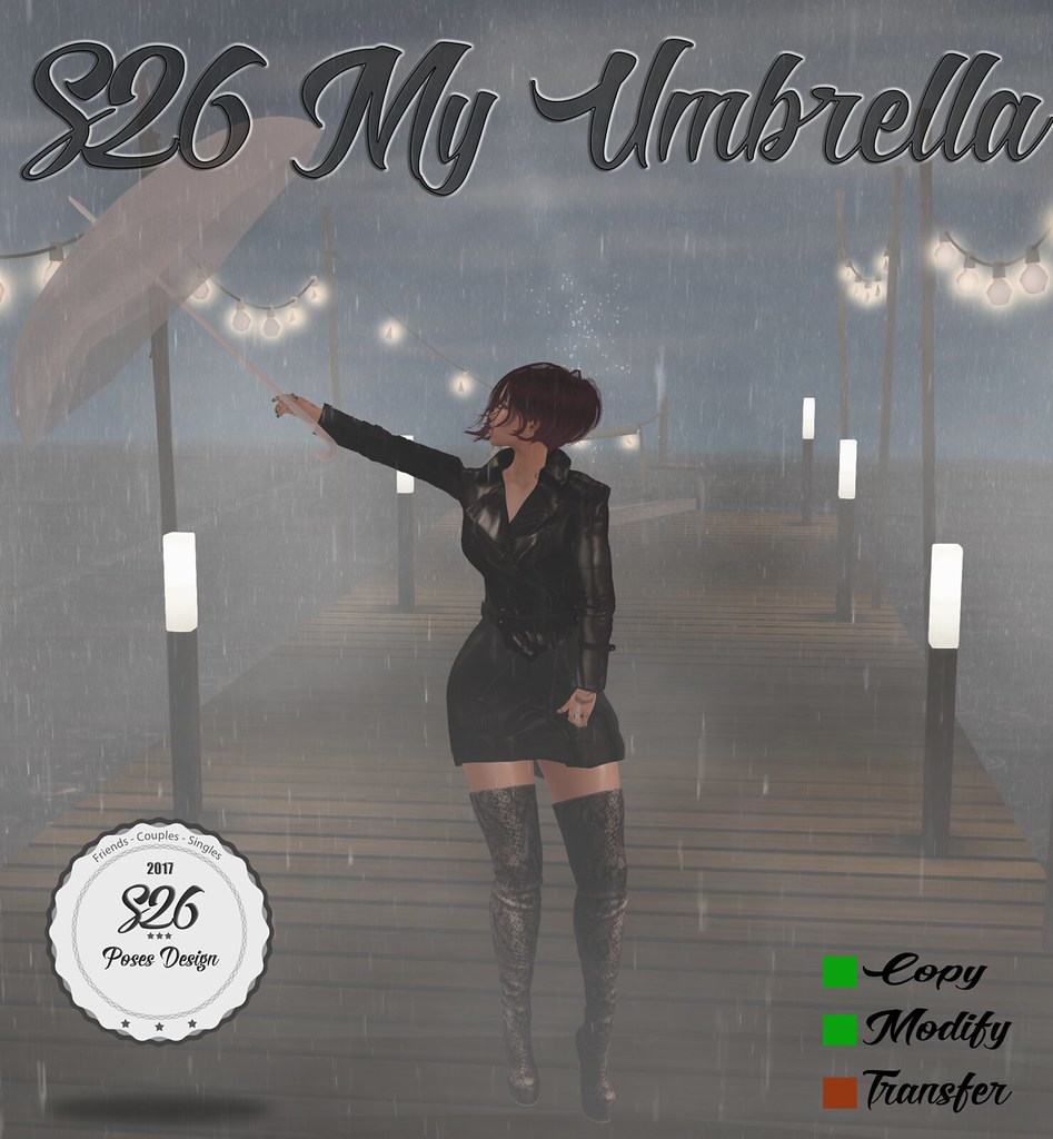 *** NEW *** S26 My Umbrella - SecondLifeHub.com