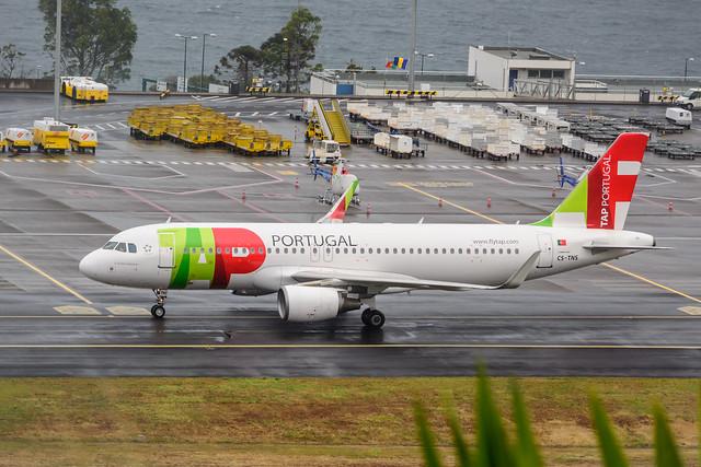 CS-TNS | TAP Portugal | Airbus A320 (sharklets)