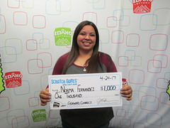 Norma Fernandez - $1,000 - Cashword Connect - Meridian - Legacy Feed and Fuel