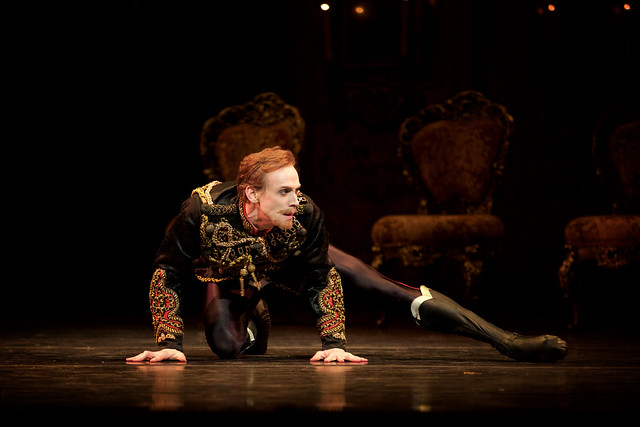 Edward Watson as Crown Prince Rudolf  in Mayerling (C) ROH, 2017.