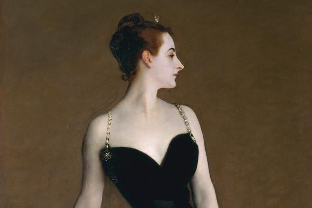 Madame X (Madame Pierre Gautreau) by John Singer Sargent, 1883–84