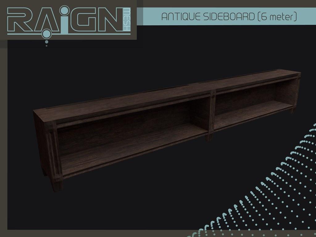 ::RAIGN:: Antique Sideboard - SecondLifeHub.com