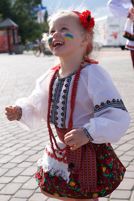Ukranian Dancer by Glenna Turnbull