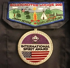 We received BSA International Spirit Award for gaining a greater knowledge of #InternationalScouting and awareness of different cultures and countries. Follow #ScoutingAdventures2017 in our visits to #ScoutsSpain #ASDE #MSC and #SeaScoutsGibraltar this ea