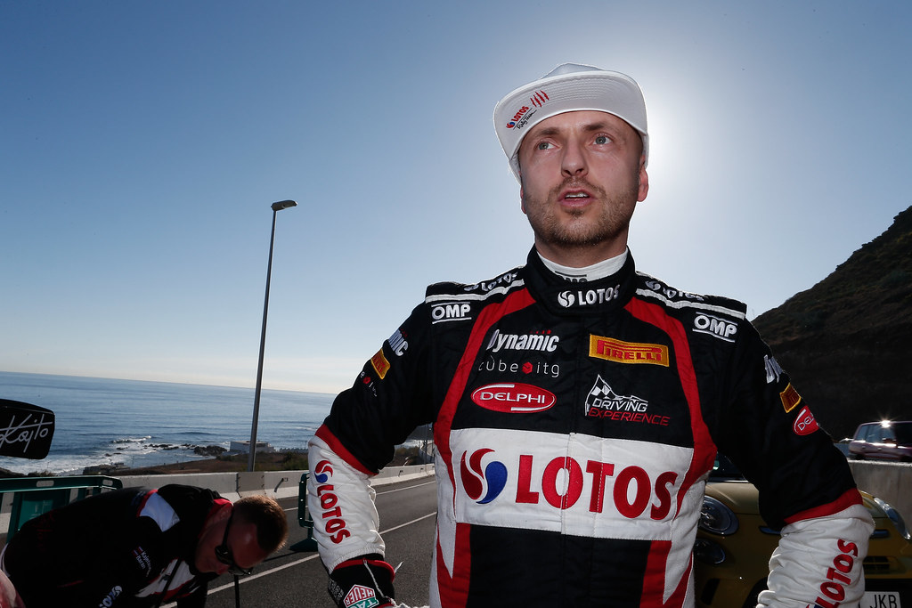 KAJETANOWICZ Kajetan (POL), Ford Fiesta R5 , ambiance portrait during the 2017 European Rally Championship ERC Rally Islas Canarias, El Corte Inglés,  from May 4 to 6, at Las Palmas, Spain - Photo Alexandre Guillaumot / DPPI