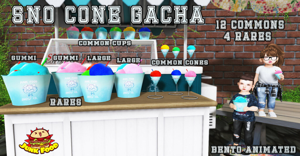Junk Food - Sno Cone Gacha - SecondLifeHub.com