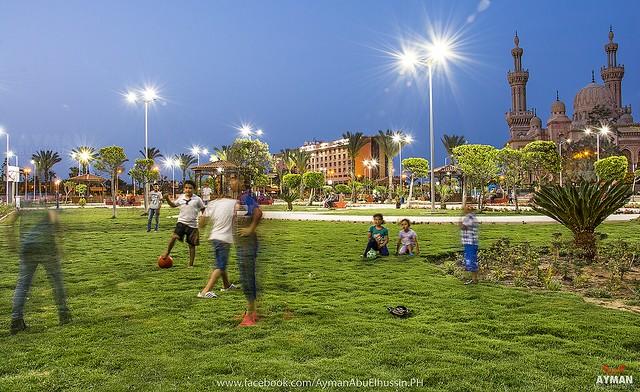 PortSaid Gardens l حدائق بورسعيد