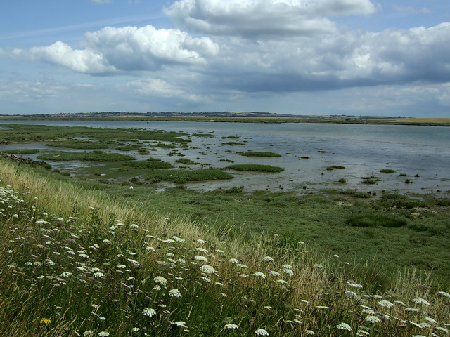 The Swale Estuary near Sittingbourne