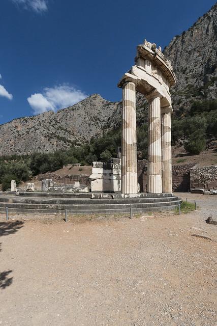 Delphi, The Sanctuary of Athena Pronaia, The Tholos