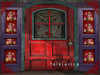 Door - closed - rose shutters - s_001