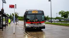 WMATA Metrobus 2011 New Flyer Xcelsior XDE40 #7052
