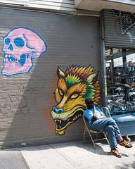 Graffiti Wall Mural, Bushwick, Brooklyn, New York City