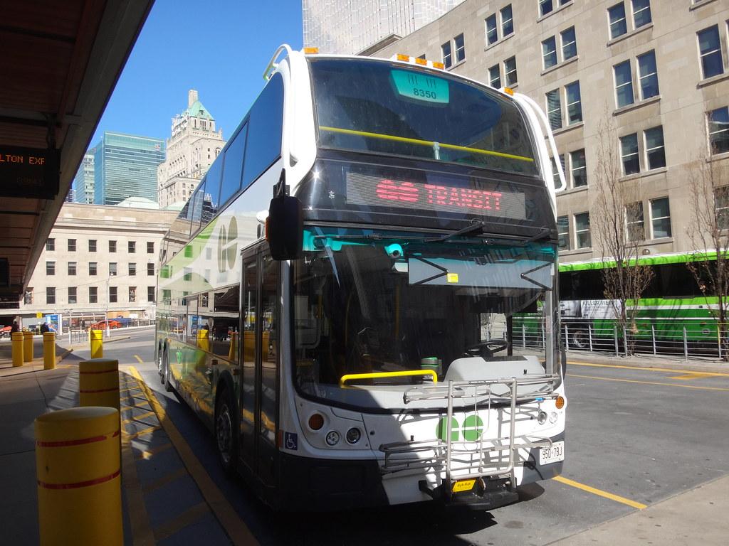 GO Transit Alexander Dennis Enviro500 SuperLo 8350