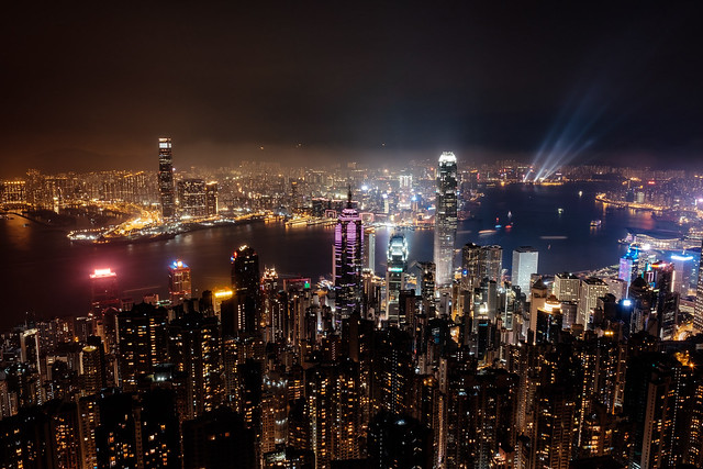 Hong Kong Skyline, Fujifilm X-T1, XF16mmF1.4 R WR