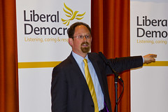 Dr Julian Huppert at his campaign launch. 06 May 2017