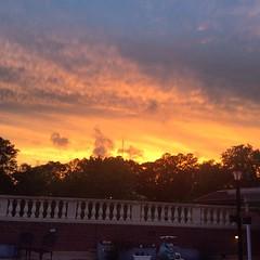 Beautiful Tallahassee sunset after the rain.