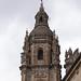 Una de las torres de la Clerecía, en Salamanca.