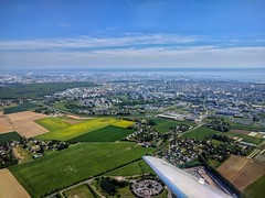 Le Havre / Octeville-sur-mer from the air