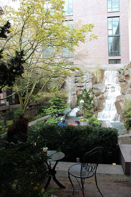 UPS Waterfall Garden