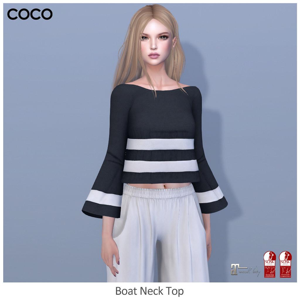 COCO_BoatNeckTop - SecondLifeHub.com