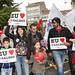 Manifestación de Queremos Galego