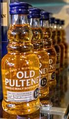 Orderly liquor bottles
