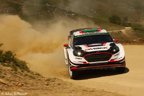Vodafone Rally de Portugal 2017 : Elfyn Evans / Daniel Barritt