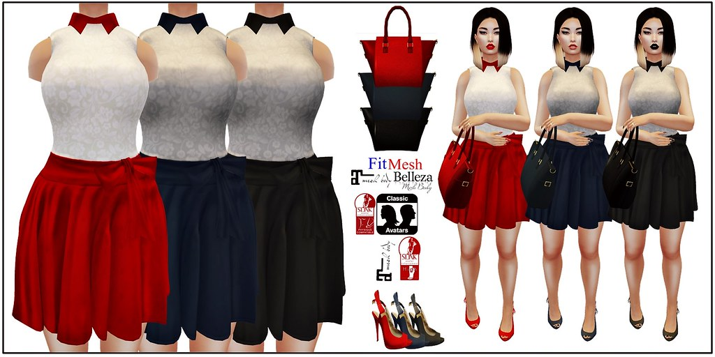 [VS] Paloma Outfit - SecondLifeHub.com