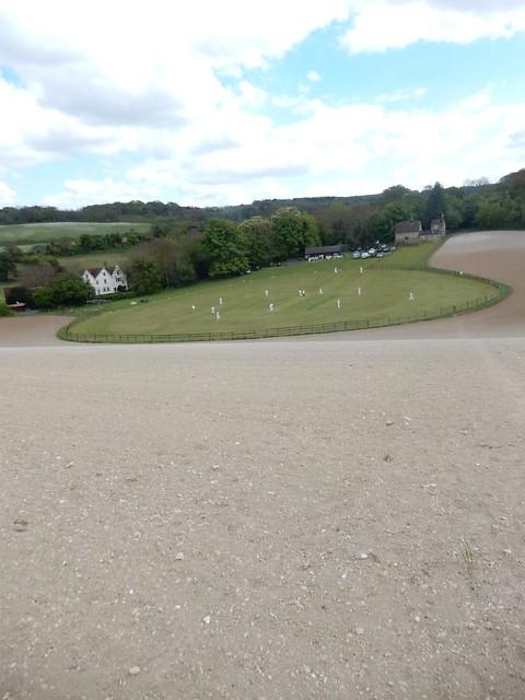 The cricket field, Luddesdown