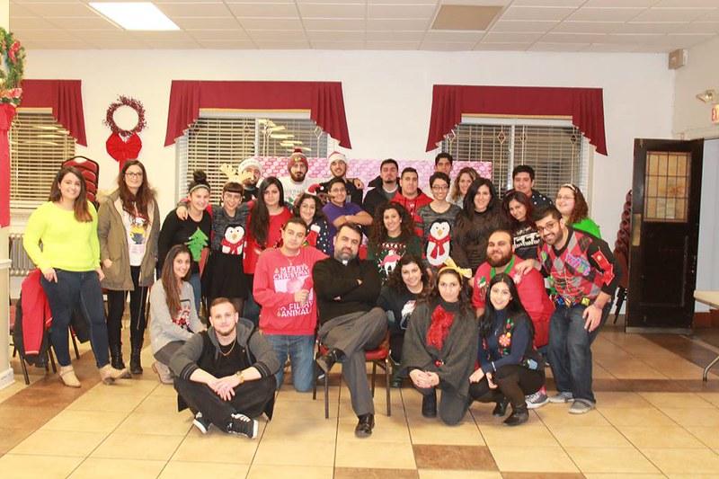Mar Gewargis' 2015 Ugly Christmas Sweater Party