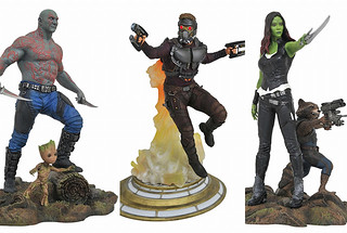 Diamond Select Toys 【星際異攻隊2】Guardians of the Galaxy Vol. 2 全身雕像作品