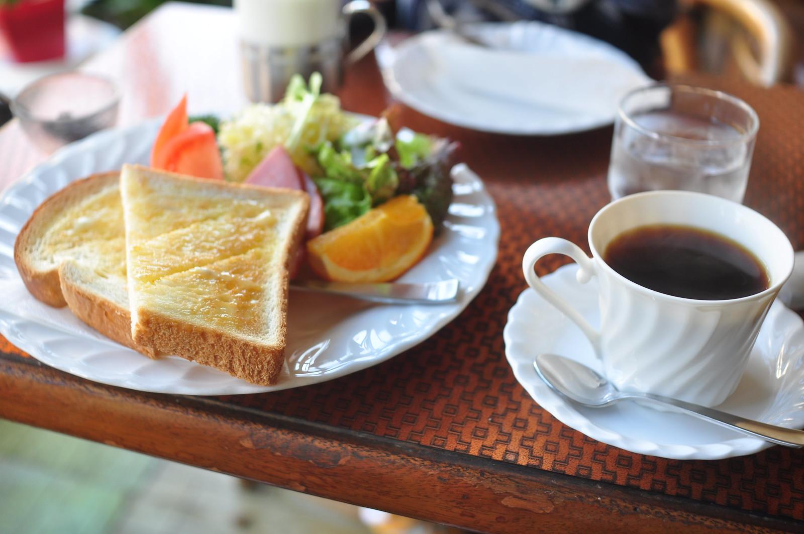 500 yen breakfast