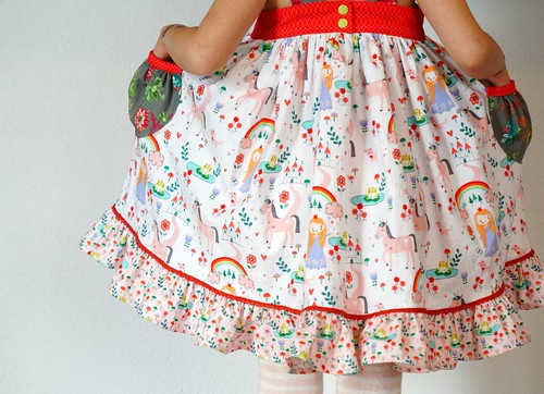 Unicorn Lemon Drop Dress