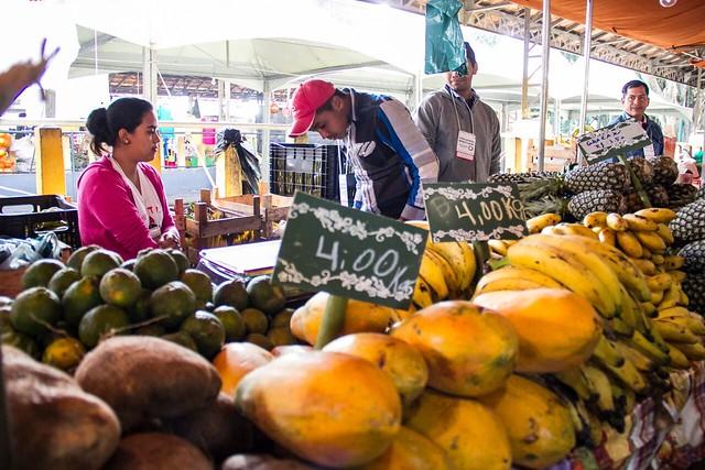 Culinária da Terra: espaço que promove alimentação saudável em feira do MST