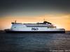 Pride of Rotterdam - Leaving King George Dock, Hull by Hey-Lance