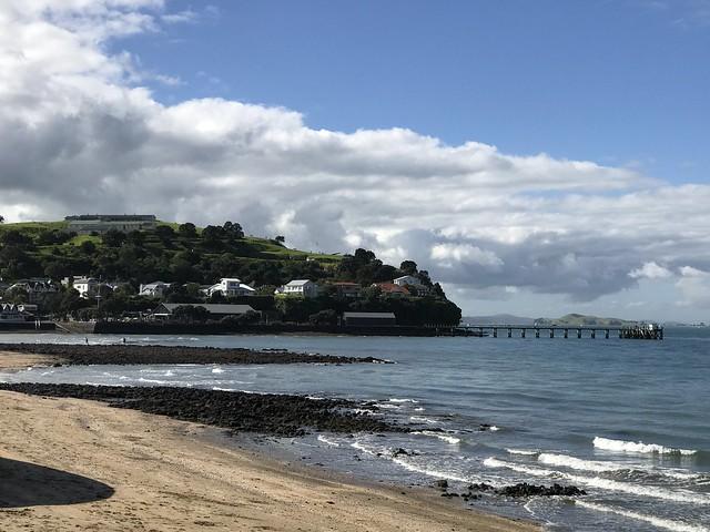 Auckland's Devenport beach