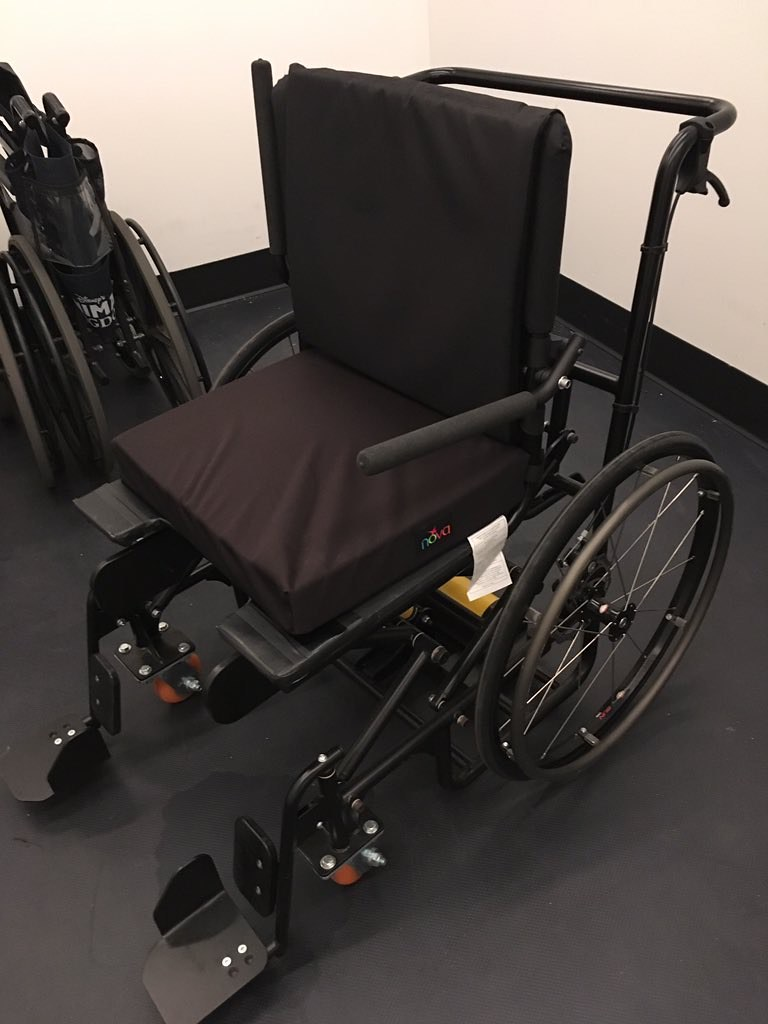 Special wheelchair to aid guests in transferring onto the Flight of Passage attraction in Pandora