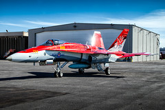 Oh Canada! Royal Canadian Air Force McDonnell Douglas CF-18 Hornet Demo