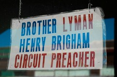 The day that Brother Lyman came to preach